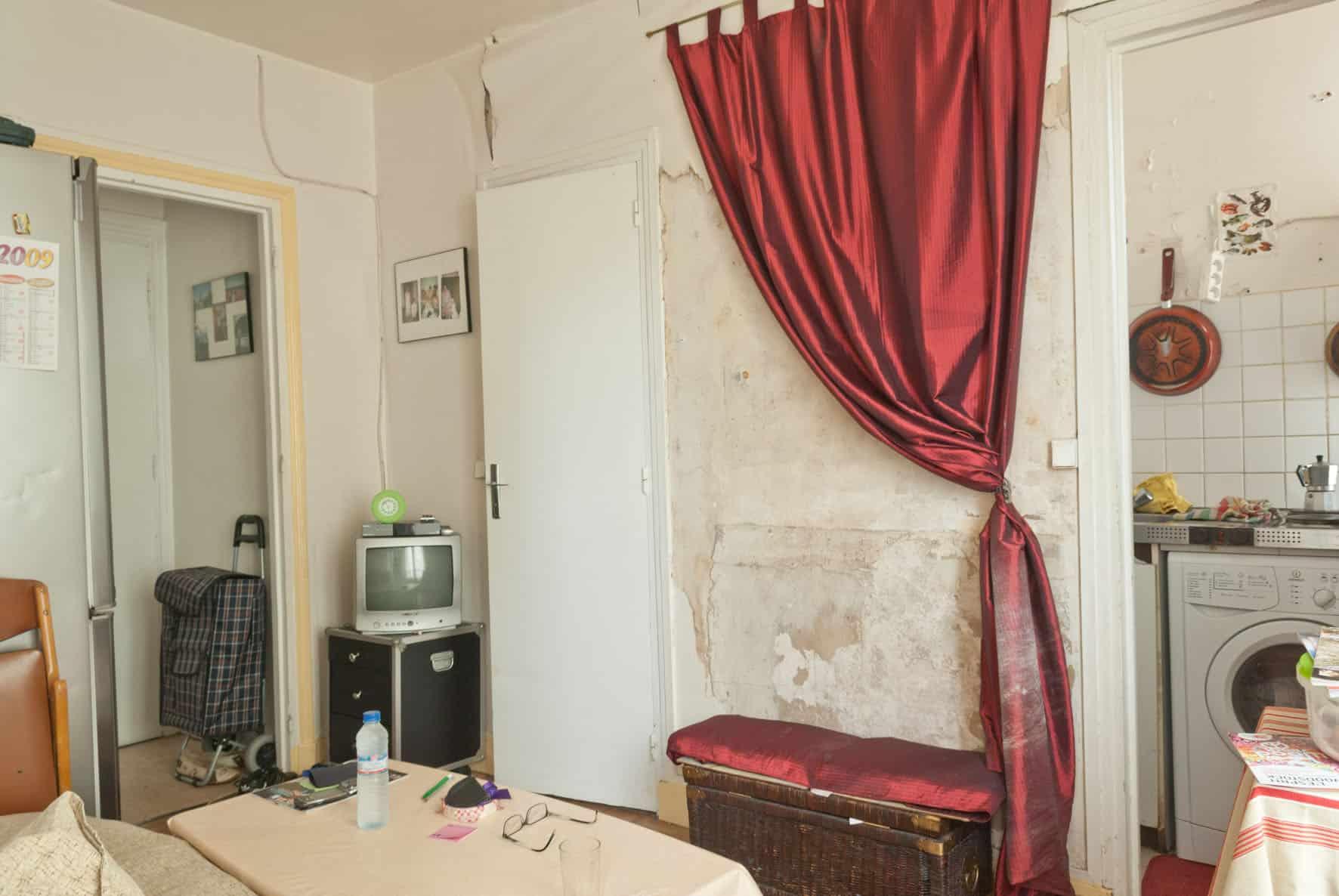 rue Myhra, trois habitants, deux pieces, 28 m2.