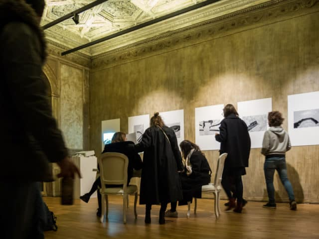 Exposition Delta, Centre d'art contemporain Éléphant Paname, Paris, décembre 2017