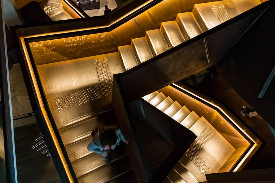 Les escaliers du mona