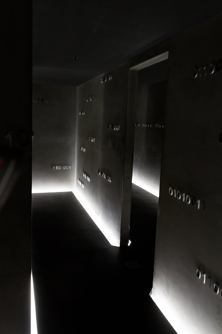 L'oeuvre Kryptos de Brigita Ozolins, 2008-2010 au MONA